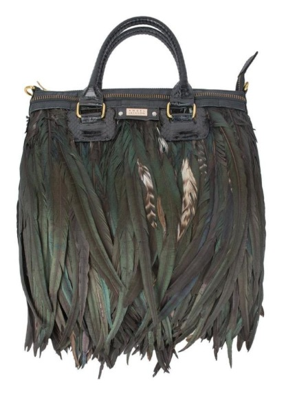 Lianto Feather Bag